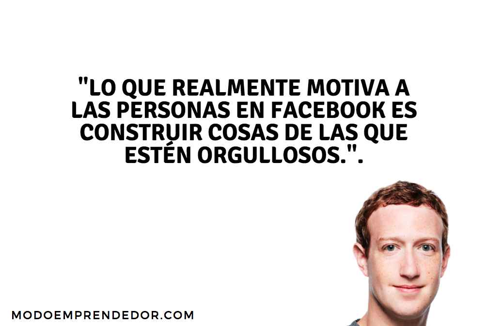 frases de Mark Zuckerberg